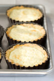 Goat cheese tart Royalty Free Stock Photography