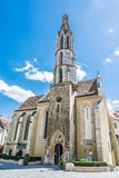 Goat church in Sopron, Hungary. Religious architecture. Travel destination Stock Image