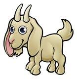 Goat Farm Animals Cartoon Character stock illustration