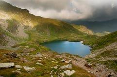 Goat Lake in Fagaras Mountains Stock Images