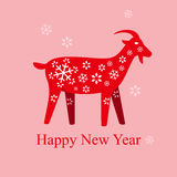 Goat Lunar New year Stock Images