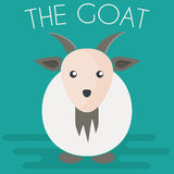 Goat mascot Illustration Royalty Free Stock Photos