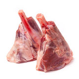 Goat meat shanks royalty free stock image