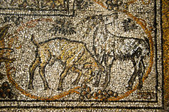 Goat Mosaic Royalty Free Stock Photography