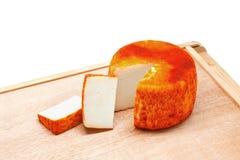 Goat Paprika Cheese Stock Photo