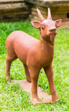 Goat statue Stock Photo