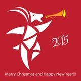 Goat - symbol 2015 - Illustration Stock Images