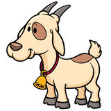 Goat. Vector illustration of Goat Cartoon Royalty Free Stock Image