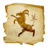 Goat Zodiac icon Stock Photography