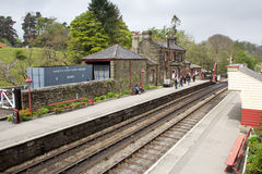 Goathland railway station Stock Photography