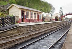 Goathland train station Stock Photography