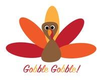 Gobble Gobble Turkey Royalty Free Stock Photos