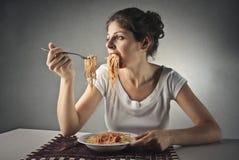 Gobble pasta Stock Photos