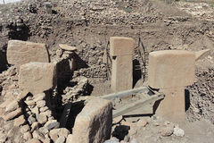 Gobekli Tepe - b-Ring Stockbild