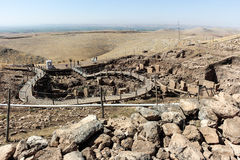 Gobekli Tepe Overview Royalty Free Stock Photo