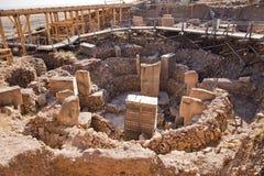 Gobeklitepe Sanliurfa, Turkiet Arkivbild