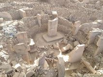 Gobeklitepe Urfa royalty free stock images
