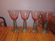 Gobelets de vin photo stock