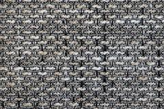 Gobelin άσπρη μαύρη γκρίζα σύσταση σύστασης ταπήτων Στοκ φωτογραφία με δικαίωμα ελεύθερης χρήσης