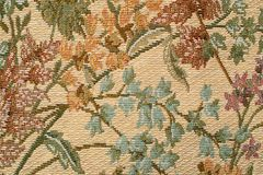 Gobelin tapestry. Fragment of flowered upholstery furniture material Royalty Free Stock Photos