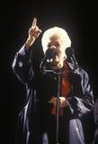 Gobernador anterior Ann Richards en una reunión de la campaña de Tejas en 1992 en el día final de Clinton/de las sangres derramad Imagenes de archivo