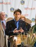 Gobernador Bobby Jindal de Luisiana fotos de archivo libres de regalías