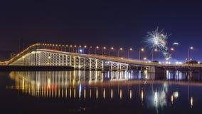 Gobernador Nobre de Carvalho Bridge, Macao Fotografía de archivo libre de regalías
