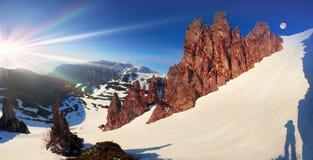 Gobião - reserva da rocha Foto de Stock Royalty Free
