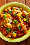 Gobi Aloo Indian curry dish Stock Photography