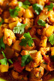 Gobi Aloo Indian curry dish Stock Photos