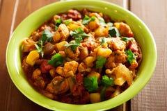 Gobi Aloo Indian curry dish Stock Image