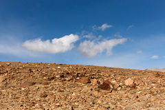 The Gobi Desert. In China Royalty Free Stock Images