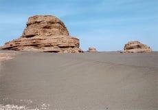 Gobi landform Royalty Free Stock Images