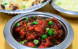 Gobi manchurian. Indo chinese meal Stock Images