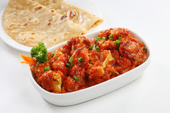 GOBI MANCHURIAN. Made from gobi (cauliflower) is one of the best starters you can have in any party. Among dry and with gravy variants of it, dry one is widely Stock Image