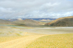 The Gobi of tibet. Looks very beautiful Stock Photography
