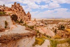 Gołębia dolina w Cappadocia terenie Obrazy Stock