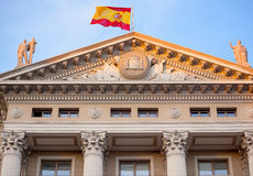 Gobierna Militar Builiding Barcelona Stock Photo