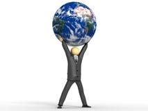 Gobierne el mundo Stock de ilustración