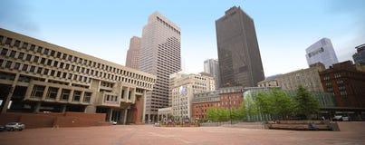 Gobierno Boston de centro Imágenes de archivo libres de regalías