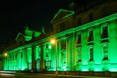 Gobierno Buldings dublín irlanda Imágenes de archivo libres de regalías