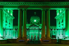 Gobierno Buldings dublín irlanda Foto de archivo