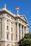 Gobierno de militar Barcellona Immagini Stock