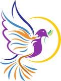 Gołąbka logo Zdjęcie Royalty Free