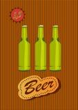 Goblet γυαλιού με την μπύρα και τον αφρό Στοκ Φωτογραφίες