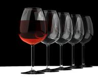 goblet κρασί Στοκ Φωτογραφίες