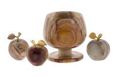 goblet μήλων onyx Στοκ Εικόνες