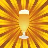 goblet μπύρας Στοκ Εικόνα