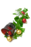 goblet Χριστουγέννων Στοκ φωτογραφία με δικαίωμα ελεύθερης χρήσης