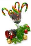 goblet Χριστουγέννων Στοκ εικόνες με δικαίωμα ελεύθερης χρήσης